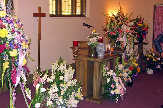 Memorial service, Sacramento, 7-29-2005, thanks to Jack