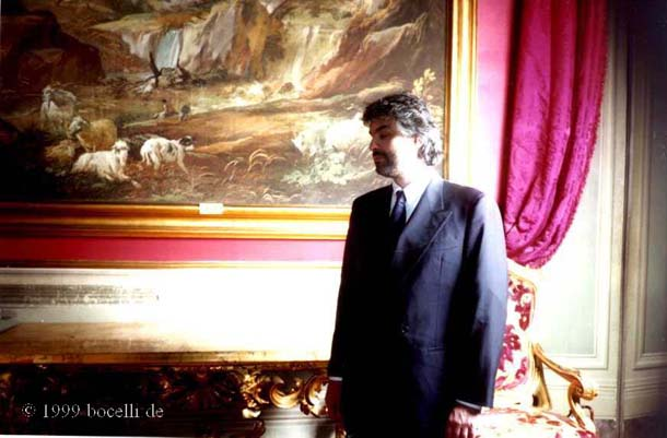 Rome, Italy, Presentation of Sogno, March 1999 - Photo exclusively for bocelli.de