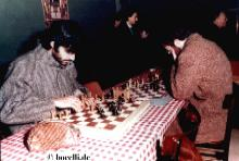 Andrea at a chess tournament approximately 1980/81. From a private collection for the exclusive use of bocelli.de3
