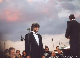 Concert at the Statue of Liberty - July 6, 2000 - Thanks to Laurie