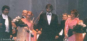 curtain call, Pisa, June 17, 2001, thanks to Astrid!