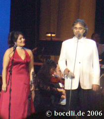 Hollywood, FL, Dec 1st 2006 with Ailyn Perez - Soprano, thanks to Fran!