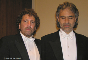 Avery Fisher Hall, New York, Sept. 2006, with Asher Fisch - thanks to Astrid!