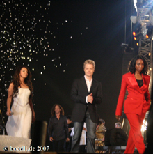 Teatro del Silenzio, Lajatico, 5.7.07, Sarah Brightman, Kenny G., Chris Botti, Heather Headley - copyright www.bocelli.de