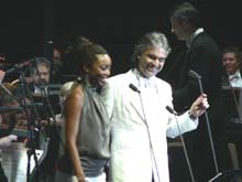 MGM Grand, Las Vegas. 1.12.07, with Heather Headley, thanks to Big Fan Sue!