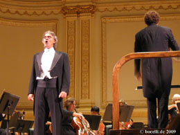 New York, Carnegie Hall, 8.-11. September 2009, thanks to Astrid!