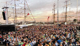 Stettin, Tall Ship Races concert, August 5, 2017, thanks to Luca Scota