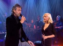 Parkinson, March 4. 2006, ITV UK TV with Christina Aguilera