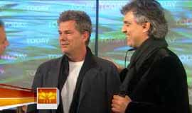 Today Show, US TV, 2. 11. 2007 with David Foster
