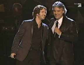 Grammy Awards, Los Angeles, Feb 10, 2008, CNN Networks, with Josh Groban